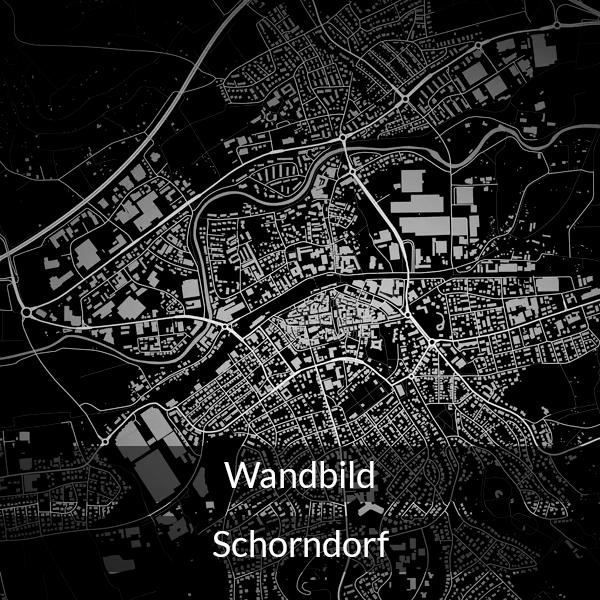 Wandbild Schorndorf