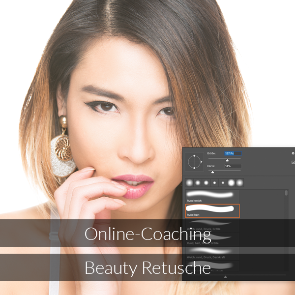 Online-Coaching Beauty Retusche