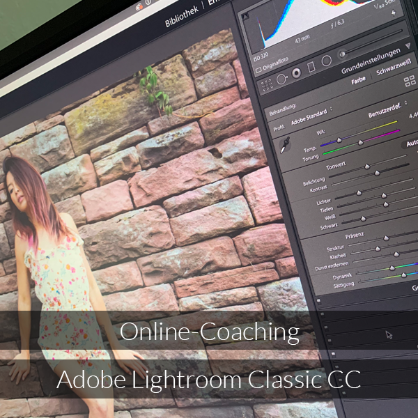 Online-Coaching Adobe Lightroom CC
